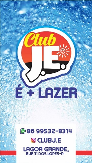 CLUB J. E. - É MAIS LAZER!
