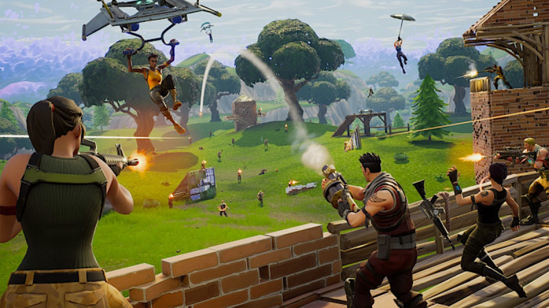 fortnite battle royale gameplay trailer play free now - fortnite game free download