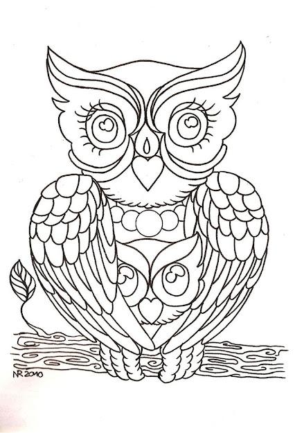 Mama Owl By Mahakalicreationdeviantart On Deviantart