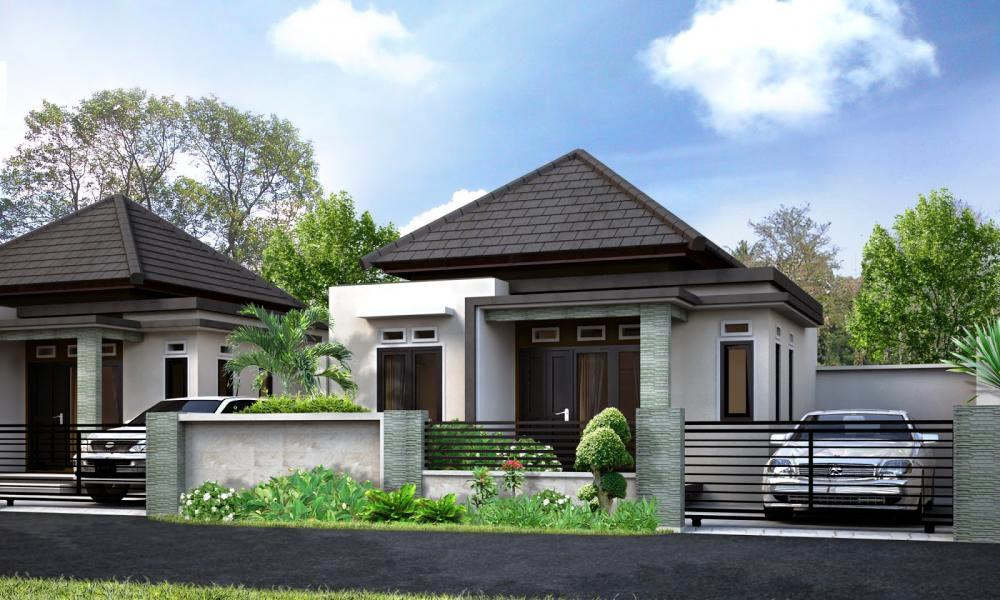 Contoh Model Rumah Mewah 1 Lantai