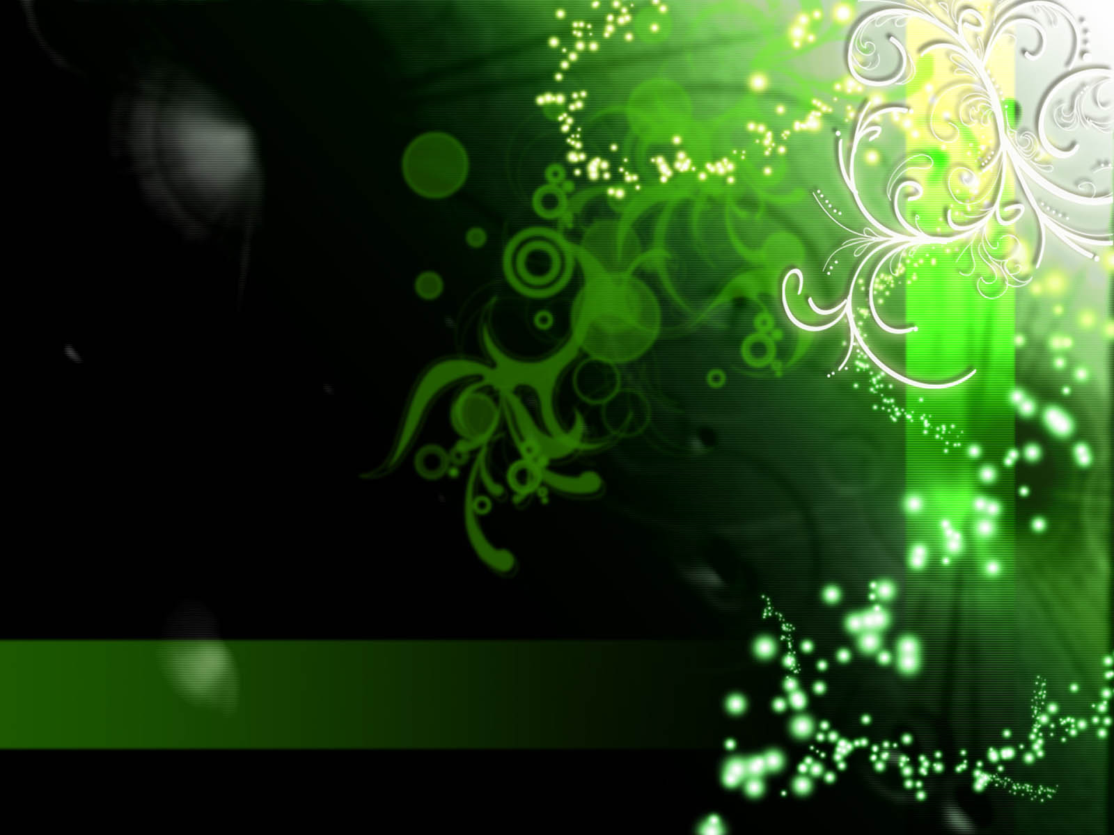 green abstract wallpapers 1