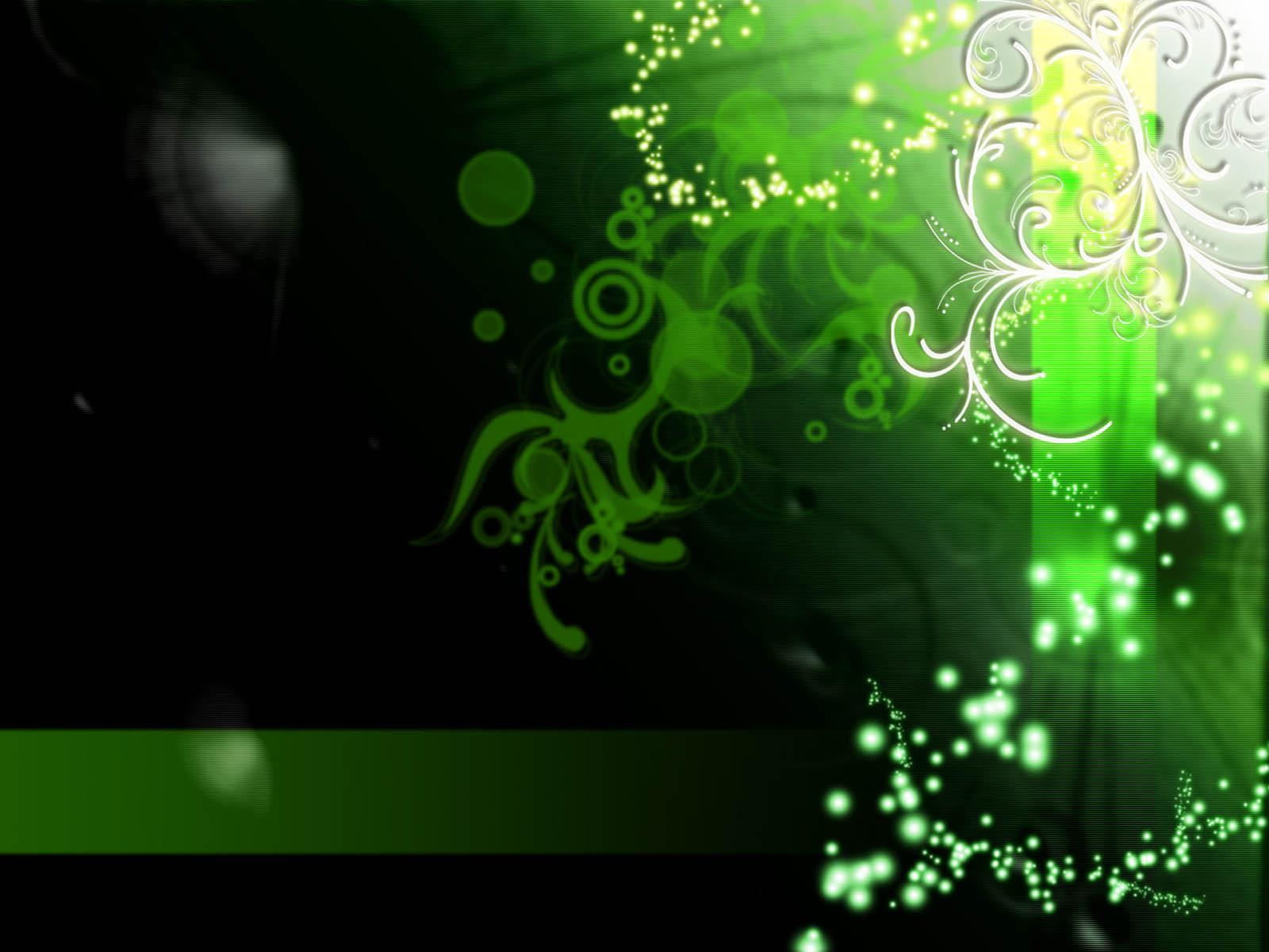 description green abstract hd - photo #37