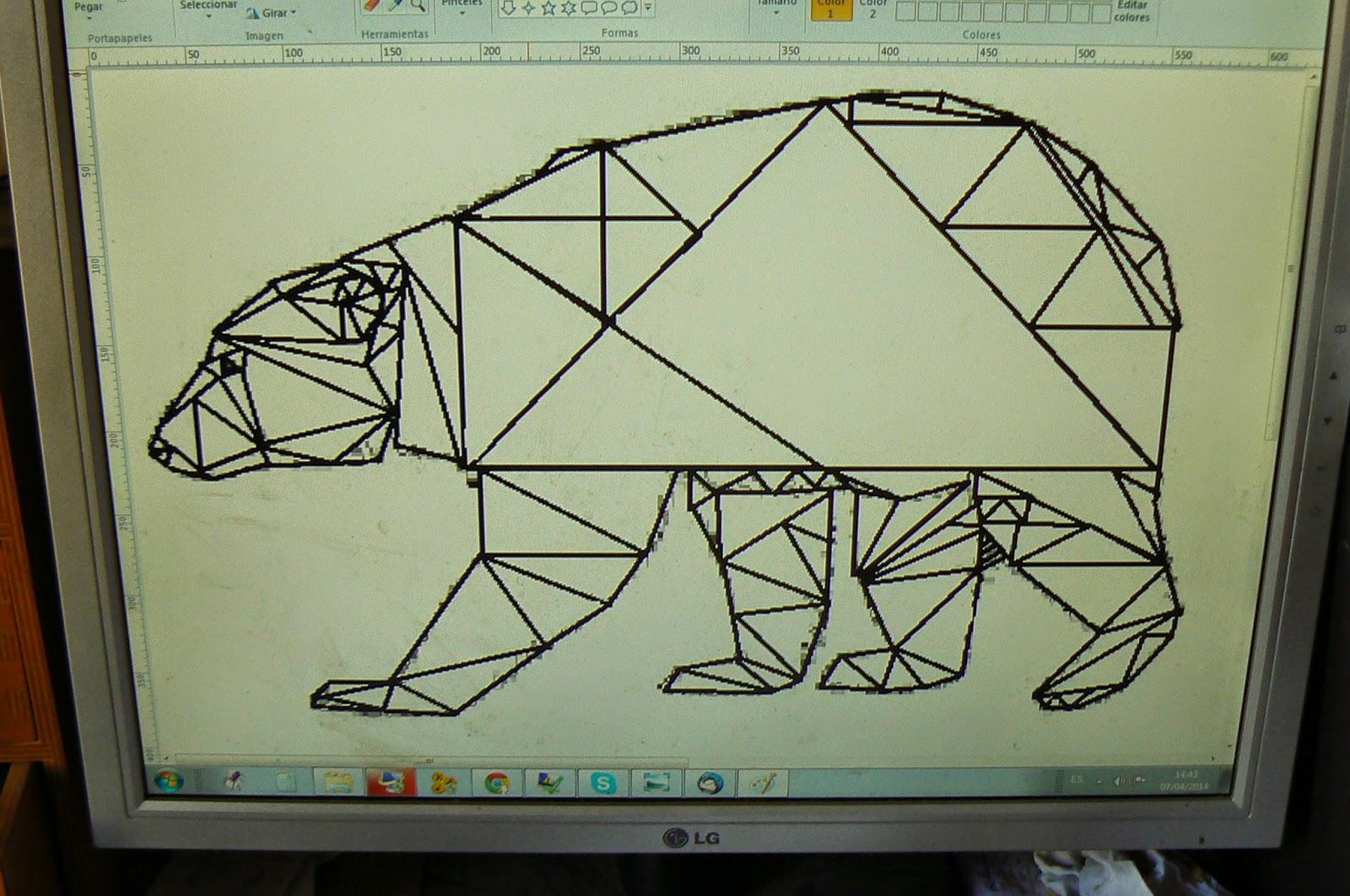 Orca Observar Recordar Crecer Y Aprender Libreta De Dibujo: Dibujos De Animales Con Triangulos