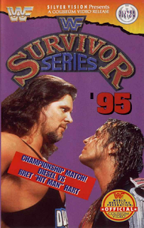 WWF / WWE SURVIVOR SERIES 95 - Event poster