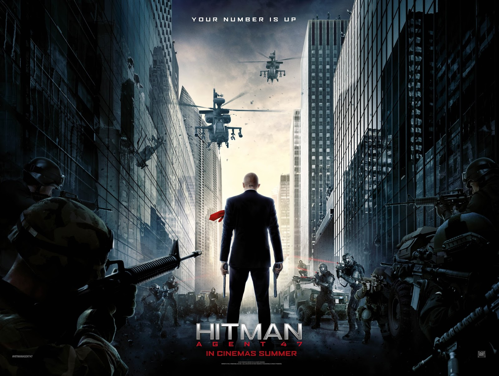 Hitman Movie Poster MOVIE REVIEW: H...