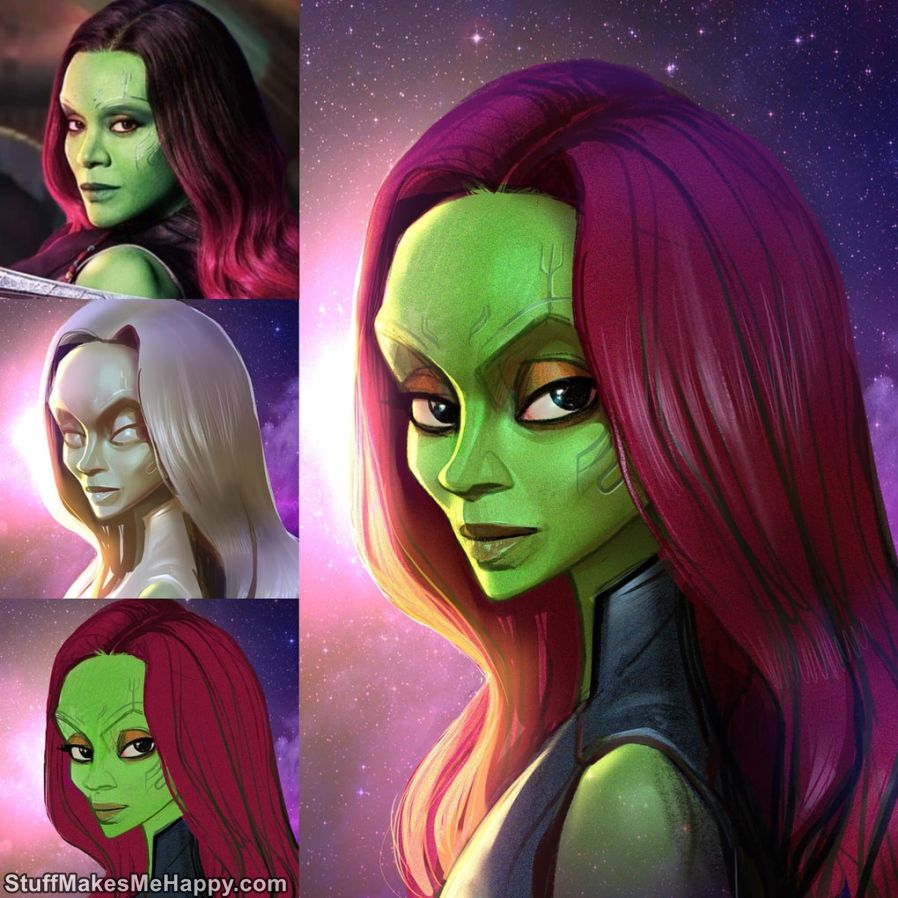5. Gamora, The Guardians of the Galaxy