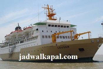 Jadwal Kapal Pelni Km Leuser Terbaru Bulan Agustus 2019