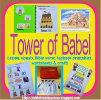 http://www.biblefunforkids.com/2013/06/genesis-tower-of-babel.html