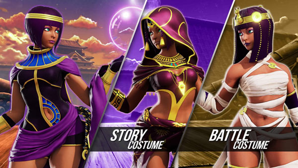 Menat Street Fighter 5 costumes