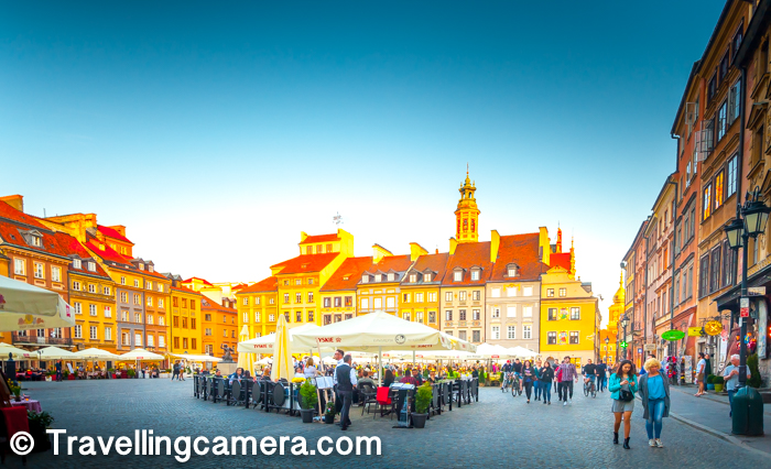 Here are some of the main things you can do around Market Square of Warsaw Old Town -