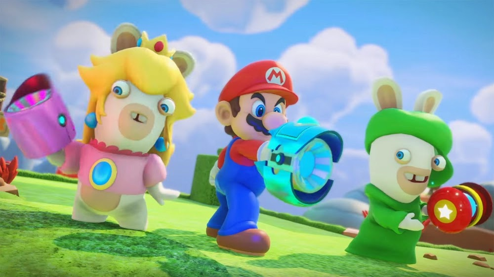 Mario + Rabbids Kingdom Battle Game Gets New Trailer.