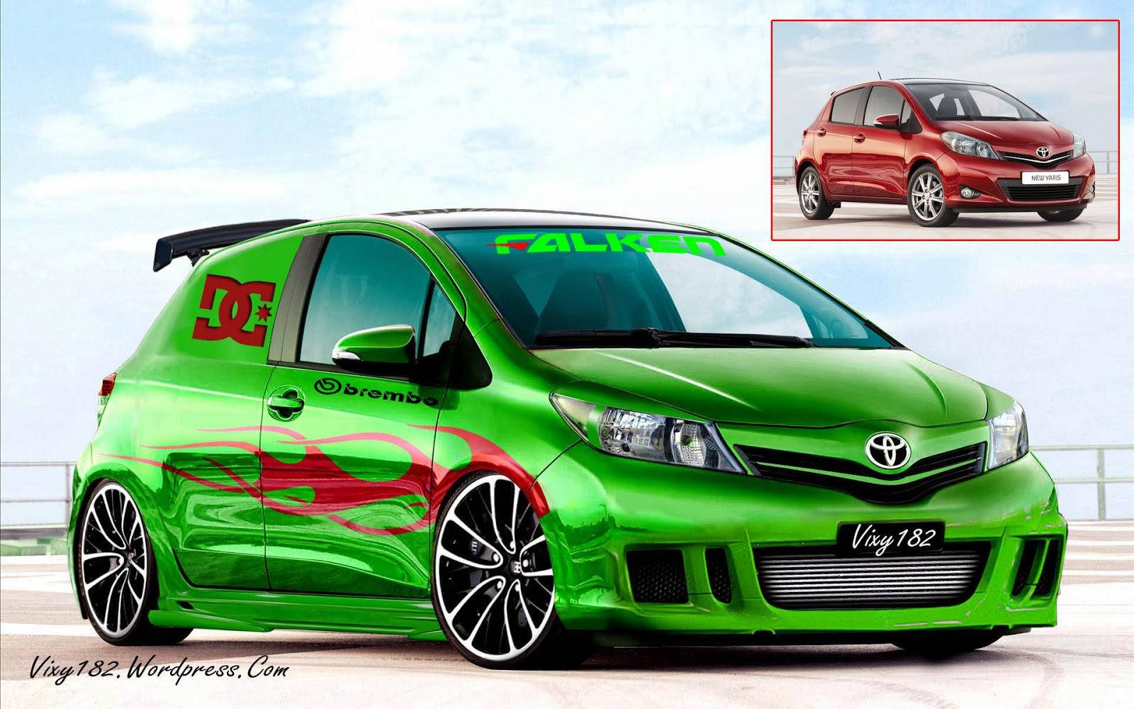Modifikasi Yaris Foto Modif Toyota Yaris Jdm Modifikasi