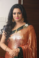 Udaya Bhanu lookssizzling in a Saree Choli at Gautam Nanda music launchi ~ Exclusive Celebrities Galleries 045.JPG