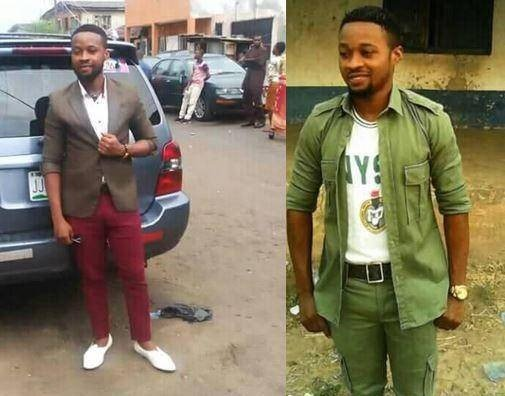 Samuel Onu, corper slumps and dies