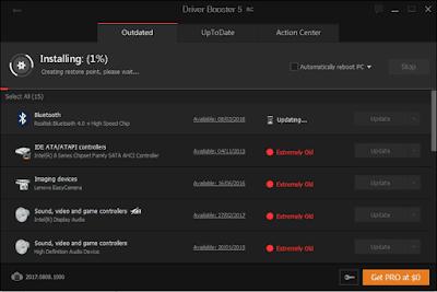 تحميل عملاق البحث عن التعريفات لتحديث الويندوز مجانا IObit Driver Booster