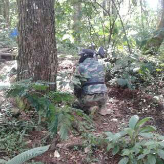 Paintball Game Di Kampung Rimba