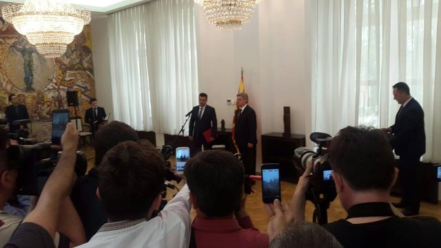President Ivanov gives Zaev the mandate after a written guarantee to reject the Tirana platform