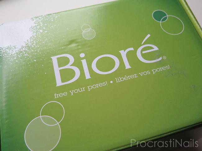 Bioré VoxBox box from Influenster