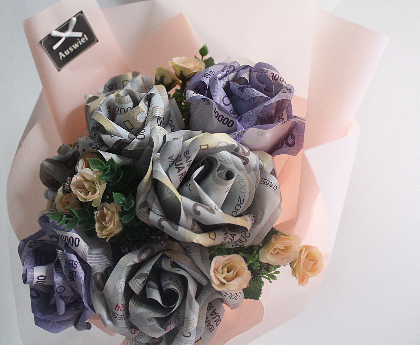 Auswiel flower design roses money bouquet money bouquet for engagement wedding anniversary izmirmasajfo