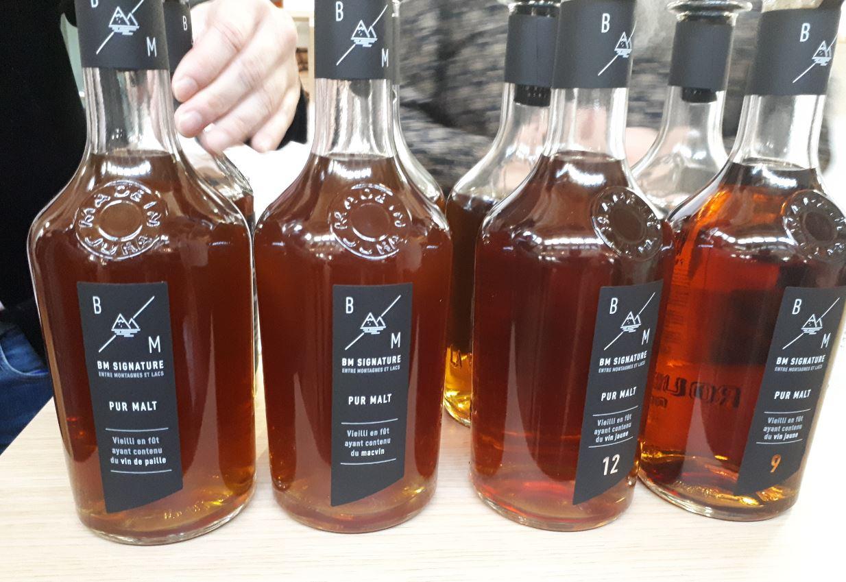 BM Signature - Whisky de France vieilli en fût ayant contenu du vin jaune