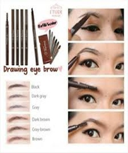 Drawing Eyebrow Etude
