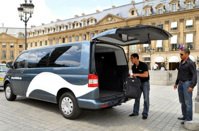 taxi service from cdg to paris