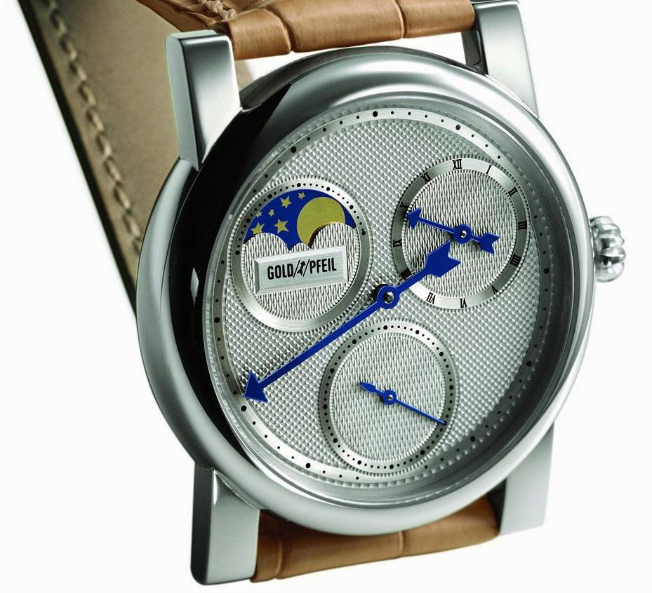 GOLDPFEIL GENEVE Moon Phases Automatic Watch