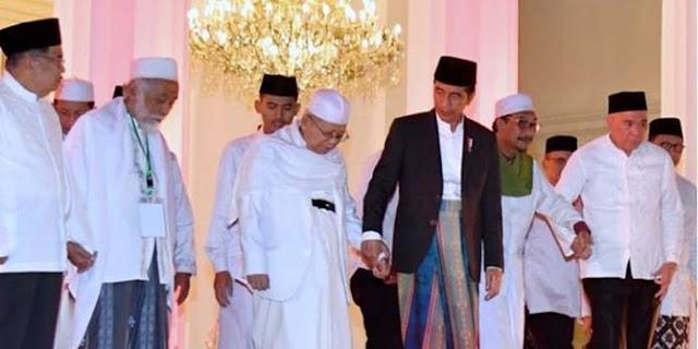 LSI Denny JA: Ma'ruf Amin kalah populer dibanding Sandiaga Uno