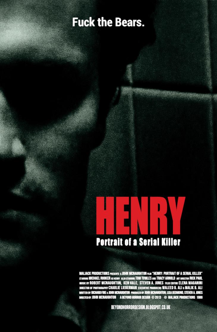 BEYOND HORROR DESIGN: HENRY: PORTRAIT OF A SERIAL KILLER (John McNaughton 1986)