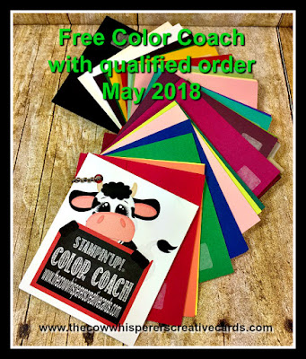 Color Coach, Customer Appreciation, Stampin'UP!, Free