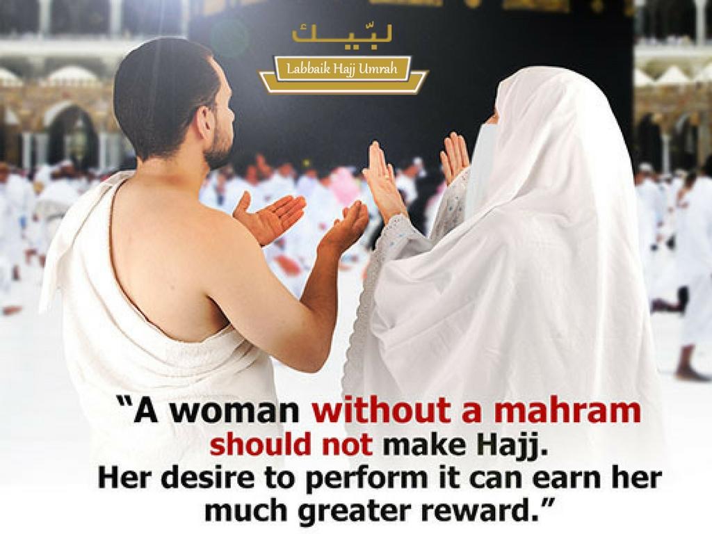 Mahram Rules for Women performing Hajj and Umrah