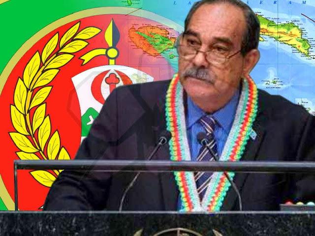 Korem Binaiya Siap Amankan Kunjungan Presiden Micronesia, Peter Martin Christian