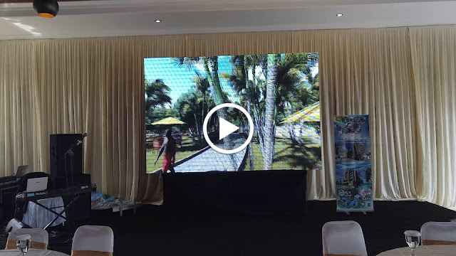 sewa videotron pati , rental led screen