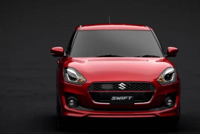 2017 Maruti Swift front look