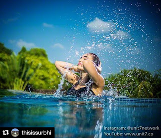 TV Star Surbhi Jyoti Shares Bikini Photo on Instagram