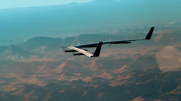 要讓全球 70 億人都能上網!Facebook 太陽能無人機 Aquila 試飛成功