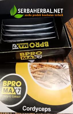 BPRO Max7 Obat Kuat Herbal Terbaik dengan Cordycep