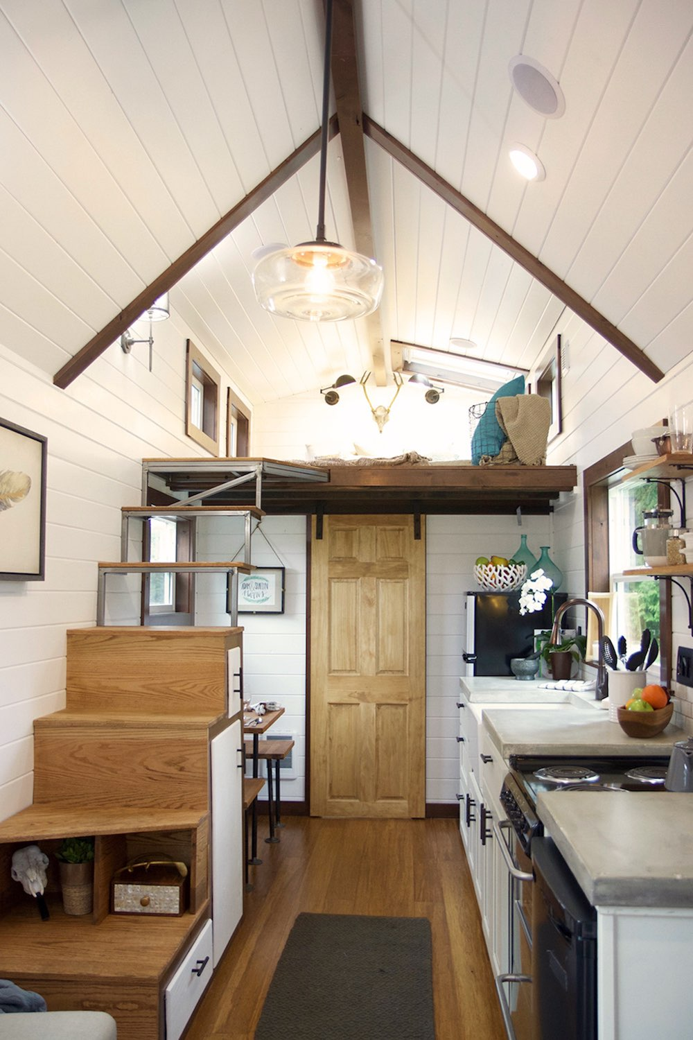 Apartment Einrichten Tiny House Town: The Nw Haven From Tiny Heirloom