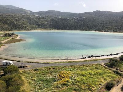 A view of Lago Specchio di Venere.