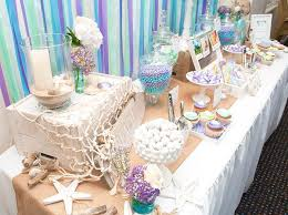Beach Party Table Decorations