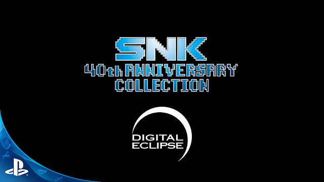 snk 40th anniversary collection ps4 2019