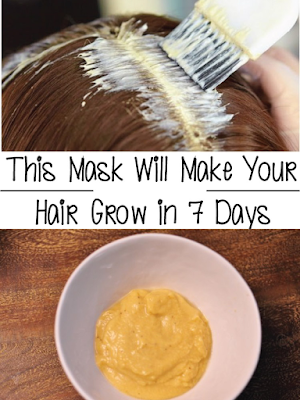This Mask Will Make Your Hair Grow in 7 Days