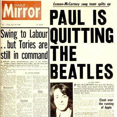 MIRADAS: Paul is quitting The Beatles