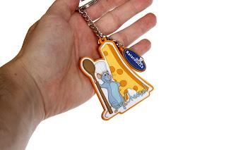 disney pixar ratatouille keychain