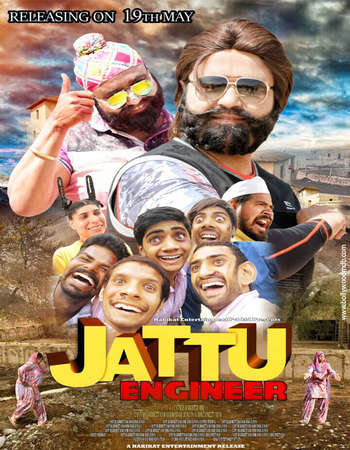 Jattu Engineer 2017 Full Hindi Movie DVDRip Free Download