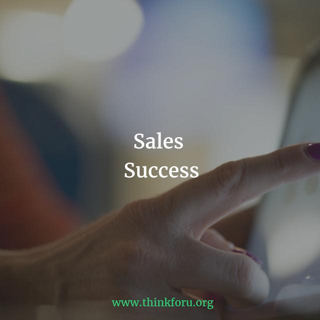 Sales Success बिक्री सफलता