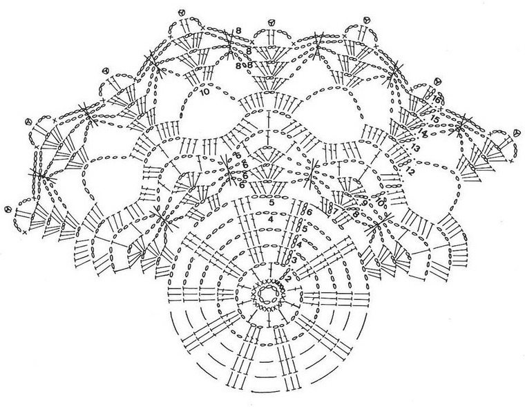 Crochet Doily Patterns With Diagram Overhead Door Parts Katrinshine Free I Created This Collection Of To Decorate Your Home There Are For Intermediate Advanced Levels
