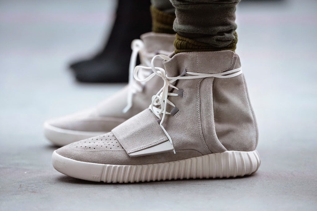13e8914c73a Kanye West x Adidas Originals Yeezy Boost (Detail of the fashion show  during the NYFW)