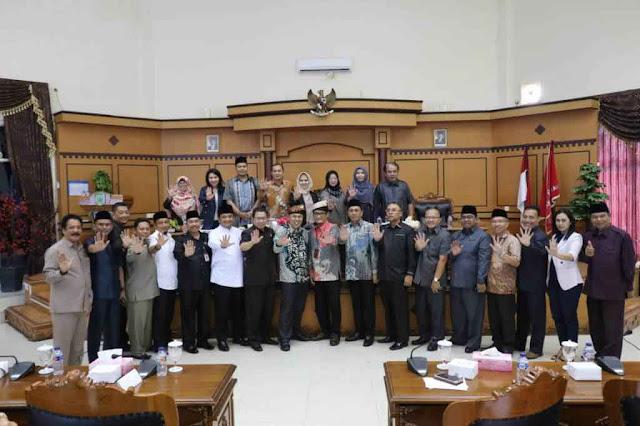 Deputi Bidang Pencegahan KPK Audensi Bersama DPRD Tangjungpinang