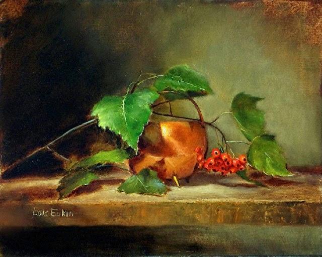 В стиле голландских реалистов 20 века. Lois Eakin